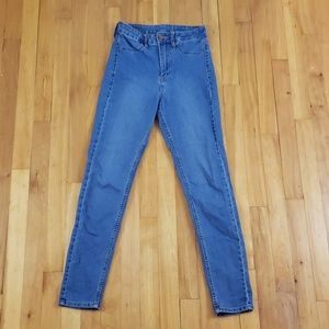 H&M Ankle Skinny High Waist Blue Jeans